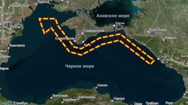 Chưa rõ lý do Nga bất ngờ đóng cửa hàng nghìn km vuông trên vùng biển của Biển Đen ảnh 1
