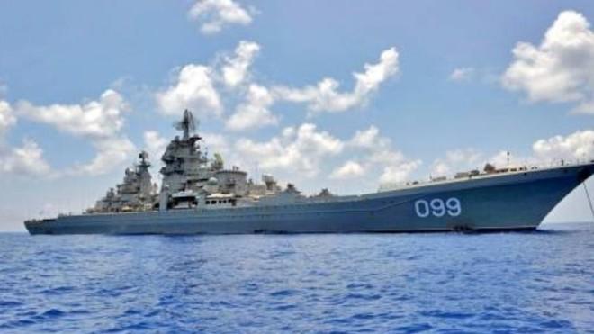 Tàu tuần dương Đô đốc Nakhimov Nga sẽ nhận được tới 480 tên lửa ảnh 1