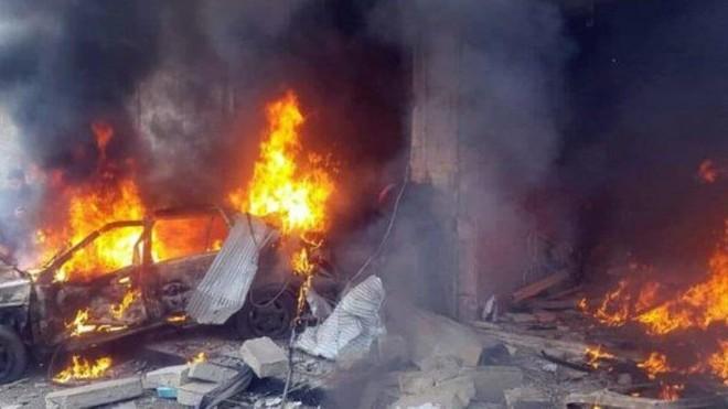 Tấn công khủng bố ở hai thành phố lớn của Syria, hàng chục người thương vong ảnh 1