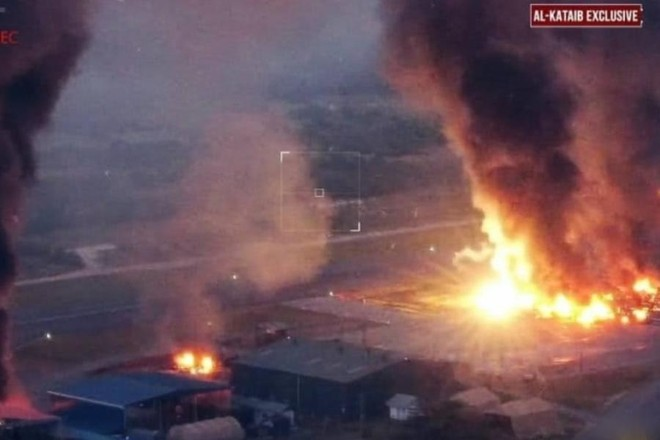 Một căn cứ không quân của Mỹ ở Kenya bị phá hủy hoàn toàn ảnh 1