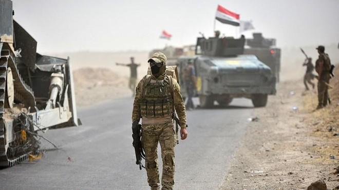 Lực lượng tình báo Iraq thu giữ kho chứa chất nổ lớn của IS ảnh 1