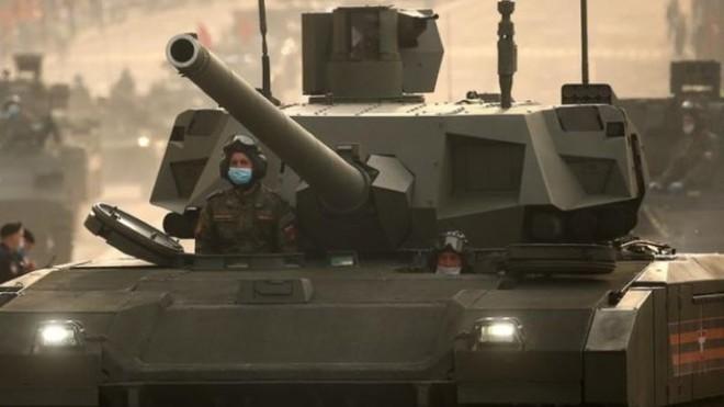 Do đại dịch, xe tăng T-14 Armata Nga không thể đến triển lãm IDEX-2021 ảnh 1
