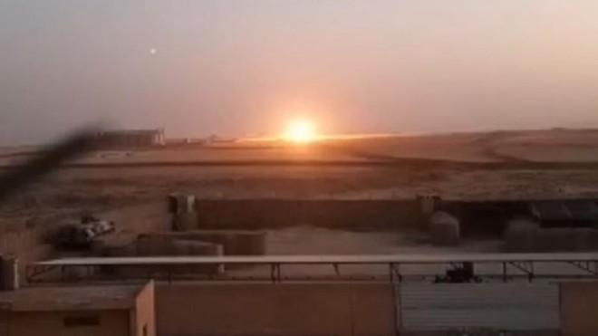 Phiến quân thân Thổ Nhĩ Kỳ nã pháo gần căn cứ quân sự Nga ở Syria ảnh 1