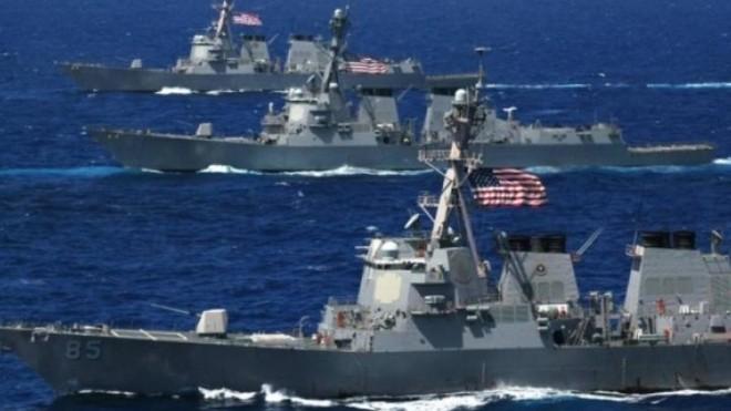 Các tàu chiến NATO đang cố phong tỏa hạm đội Nga ở Đại Tây Dương ảnh 1