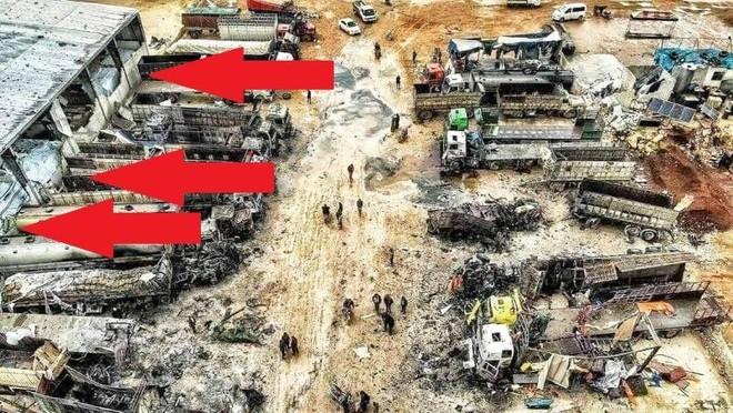 Chiến đấu cơ Su-34 Nga phá hủy hơn 10 xe bọc thép Thổ Nhĩ Kỳ ở Idlib ảnh 1