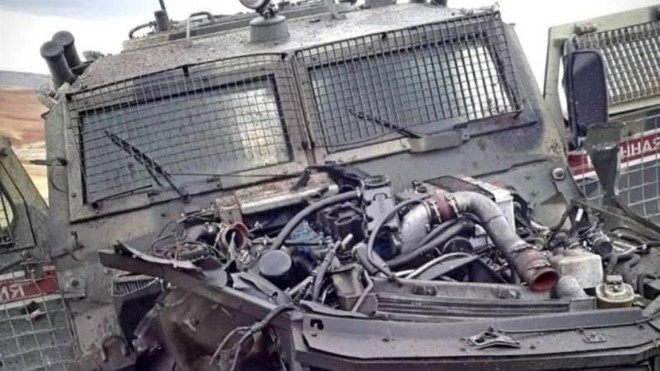 Phiến quân tấn công đoàn xe quân sự Nga, xe bọc thép Tiger bị phá hủy ảnh 1