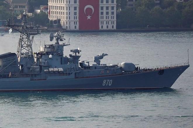 [ẢNH] Thổ Nhĩ Kỳ dự định cấm tàu Nga đi qua eo biển Bosphorus ảnh 2