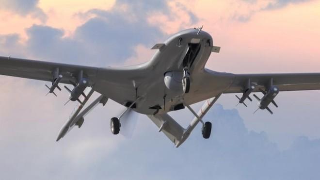 Ít nhất 6 UAV Bayraktar TB2 Thổ Nhĩ Kỳ xuất hiện gần biên giới Crimea ảnh 1
