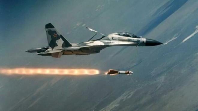 Su-34 Nga dội bom ác liệt vào các vị trí của phiến quân ở Idlib ảnh 1