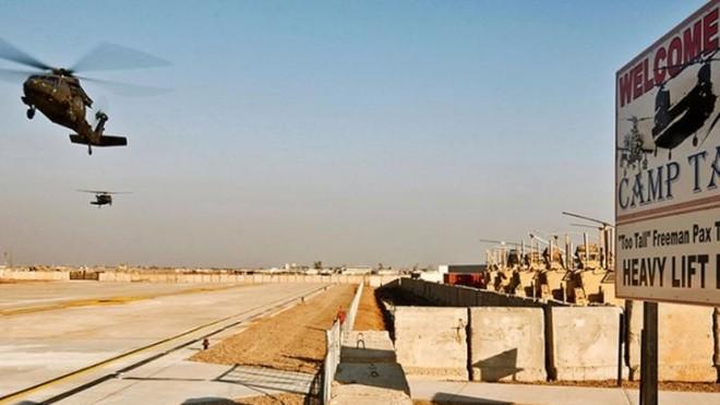 Căn cứ quân sự của Mỹ ở Iraq bị tấn công tên lửa ảnh 1