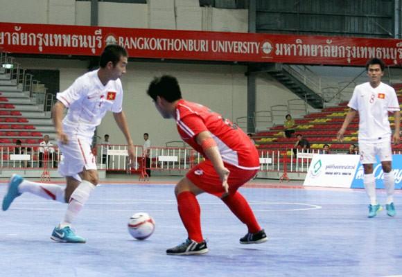 Tuyển Futsal VN suýt ôm hận trước Brunei ảnh 1