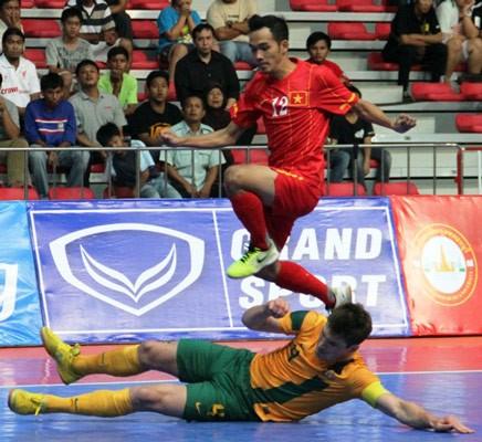 Thảm bại trước Australia, Tuyển Futsal VN mất vé vào chung kết ảnh 1