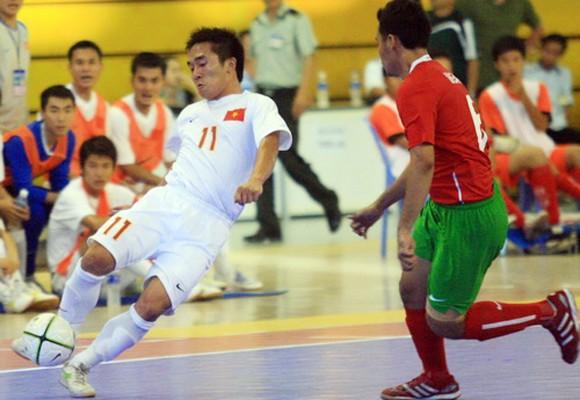 Hạ đẹp Indonesia, Tuyển Futsal VN giành HCĐ giải Đông Nam Á 2013 ảnh 1