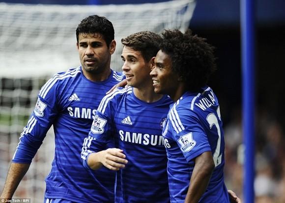 Chelsea 3-0 Aston Villa: Cơn cuồng phong màu xanh! ảnh 2