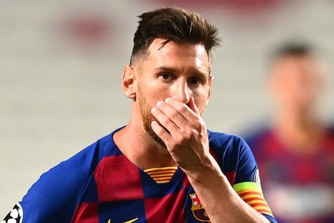 Suy sụp sau thảm bại, Messi đòi rời Barca ngay lập tức ảnh 1