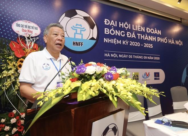 Ông Tô Văn Động làm Chủ tịch Liên đoàn bóng đá Hà Nội ảnh 1