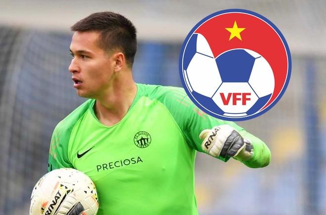 VFF nói gì khi tuyển Việt Nam có thể mất thủ môn tài năng Filip Nguyễn? ảnh 1