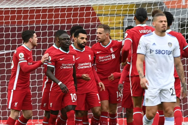 Liverpool 4-3 Leeds: Hattrick của Salah giải cứu đương kim vô địch ảnh 4