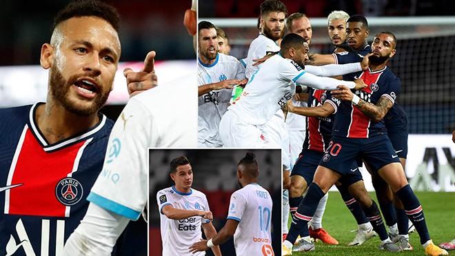 Nhận thẻ đỏ, Neymar vẫn cay cú muốn đấm thẳng mặt đối thủ ảnh 1