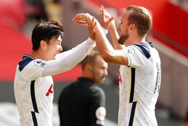 Ghi 4 bàn, Son Heung-min lập kỳ tích chưa từng có cho châu Á ảnh 1