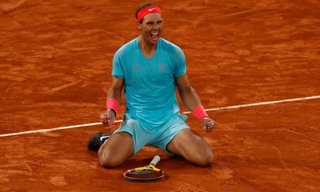 Hạ đẹp Djokovic, Nadal tròn 20 lần vô địch Grand Slam ảnh 1