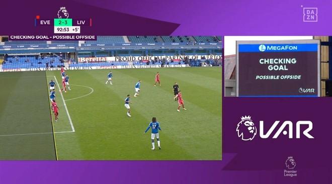 Liverpool mất chiến thắng trước Everton vì sai lầm của VAR? ảnh 1