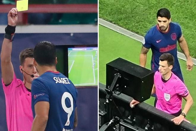 Hài hước cảnh Luis Suarez đòi... giám sát cả trọng tài ảnh 1