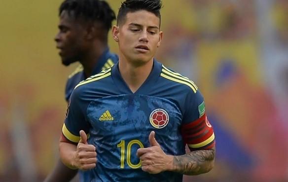 James Rodriguez ẩu đả với đồng đội sau trận thua thảm của Colombia ảnh 1