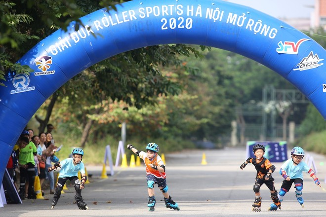 Hấp dẫn giải đua Roller Sports Hà Nội mở rộng 2020 ảnh 1