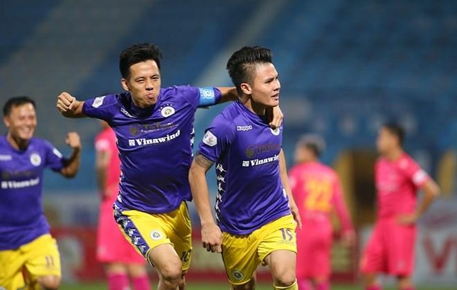 Hà Nội FC suýt tự phá kỷ lục góp quân cho ĐT Việt Nam ảnh 1