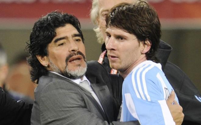"""Messi: """"Maradona là biểu tượng vĩnh cửu"""" ảnh 1"""