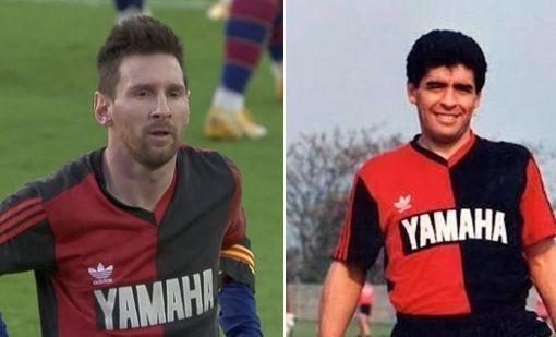 Messi ăn mừng độc đáo để tưởng nhớ Diego Maradona ảnh 1