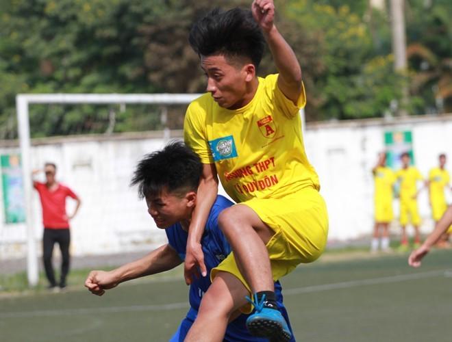 Những đội bóng đầu tiên đăng ký dự giải bóng đá học sinh THPT Hà Nội - Báo ANTĐ năm 2020 ảnh 1