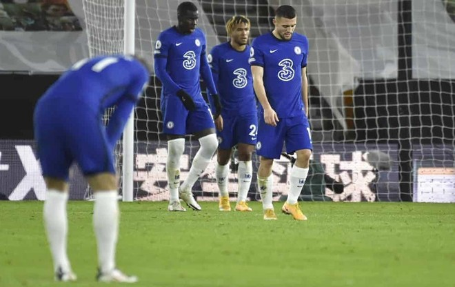 Chelsea thua đau, Lampard bất bình với học trò ảnh 1