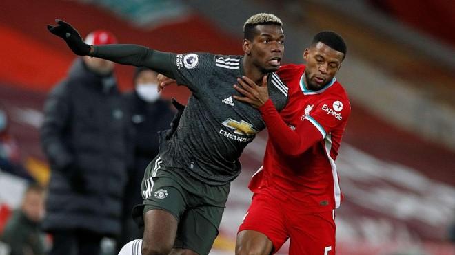 Không thắng Liverpool, M.U nguy cơ bị Man City soán ngôi đầu ảnh 1