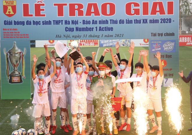 THPT Hoàng Mai lần đầu tiên vô địch ảnh 2