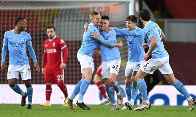 Đè bẹp Liverpool, Man City bỏ xa M.U 5 điểm ảnh 1