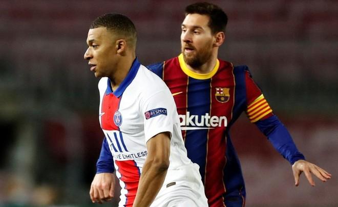 Mbappe 'nhấn chìm' Messi ngay tại Nou Camp ảnh 1