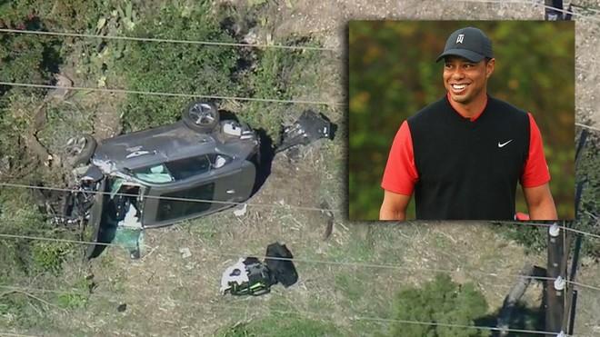 Huyền thoại golf Tiger Woods thoát chết sau tai nạn kinh hoàng ảnh 1