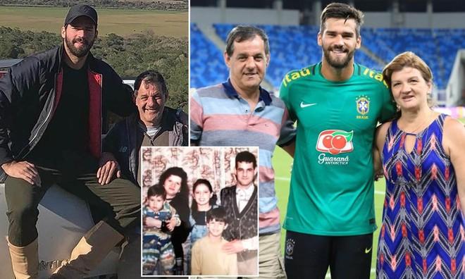 Alisson đau khổ tột cùng khi không thể về Brazil chịu tang bố ảnh 1