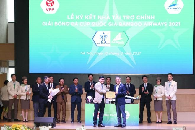 Bamboo Airways là nhà tài trợ chính cúp Quốc gia 2021 ảnh 1
