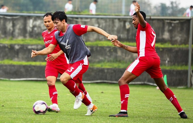 Quế Ngọc Hải trở lại, Viettel FC tự tin giành 3 điểm ảnh 1