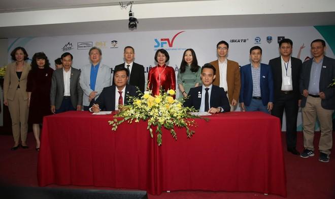 """Liên đoàn trượt băng Việt Nam đổi tên, đặt mục tiêu """"săn Vàng"""" SEA Games ảnh 1"""