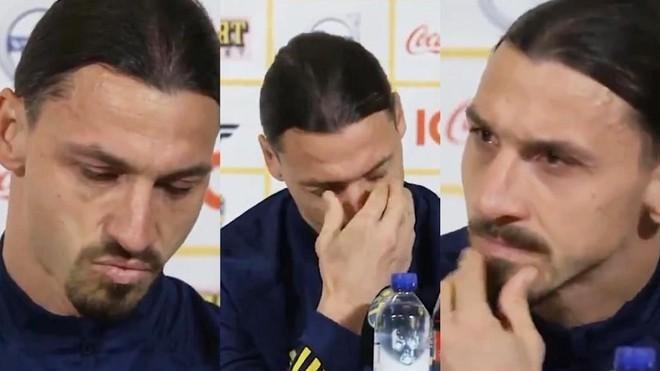40 tuổi, Ibrahimovic bật khóc khi trở lại ĐT Thụy Điển ảnh 1