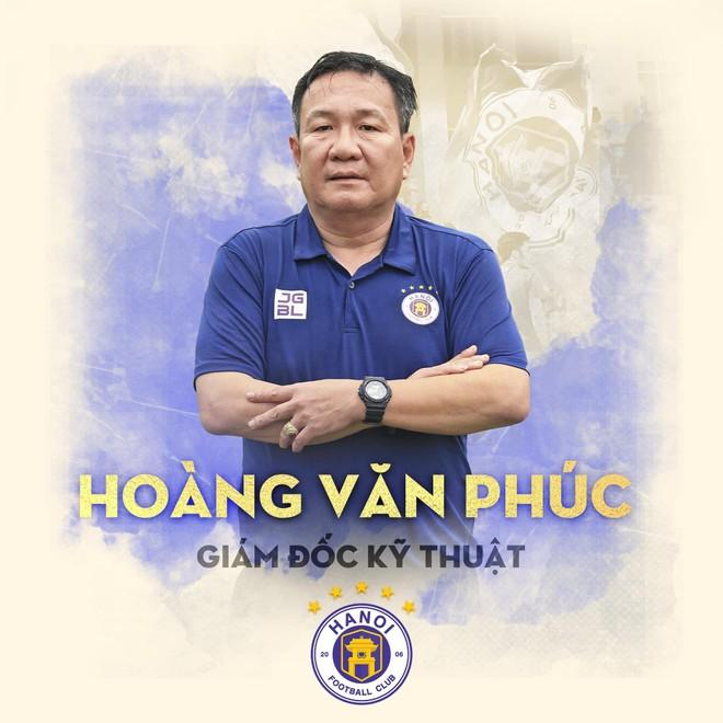 HLV Hoàng Văn Phúc đảm nhiệm cùng lúc 2 vai trò ở Hà Nội FC ảnh 1