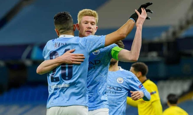 """Hạ Dortmund, Man City vẫn không thể """"ăn ngon, ngủ yên"""" trước lượt về ảnh 1"""