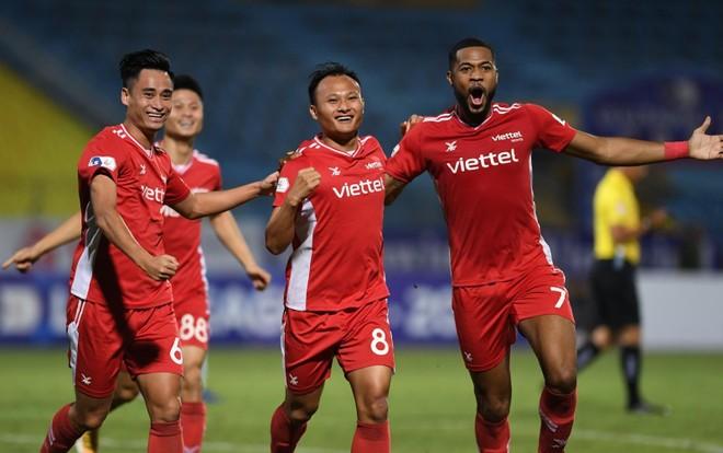 Cuối cùng, Viettel đã xóa dớp trước Hà Nội FC ảnh 1