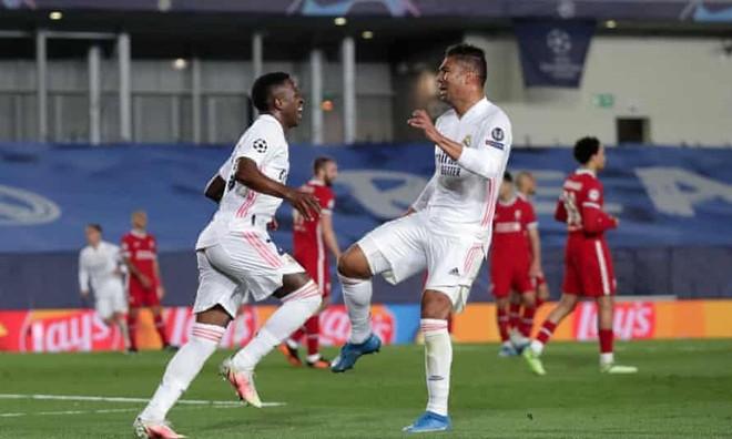 Vinicius đá như Ronaldo, Real đè bẹp Liverpool ảnh 2