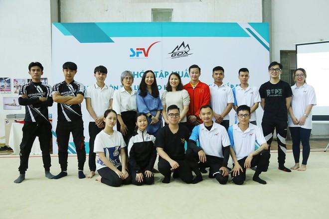 """HLV Trương Minh Sang: """"Thể lực rất quan trọng với trượt băng và roller"""" ảnh 4"""