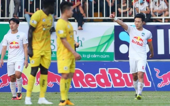 Xuân Trường 'xé lưới' Hà Nội FC, HAGL thắng trận thứ 6 liên tiếp ảnh 1